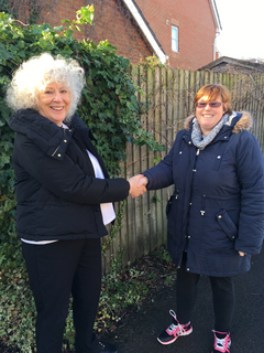 Angela Williams is backing Emma Harrison to be the new Lib Dem councillor for Earl Shilton