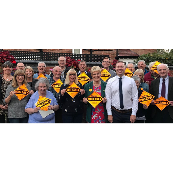 Lib Dem members in Bosworth have selected Michael Mullaney to be their parliamentary candidate