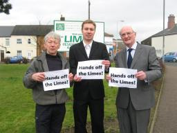 Cllr Jeff Bannister, Michael Mullaney and Cllr David Bill