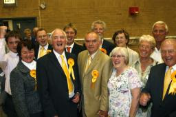 Hinckley and Bosworth Liberal Democrats celebrate election success