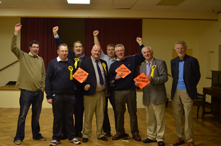 Lib Dems celebrate another election success in Barwell