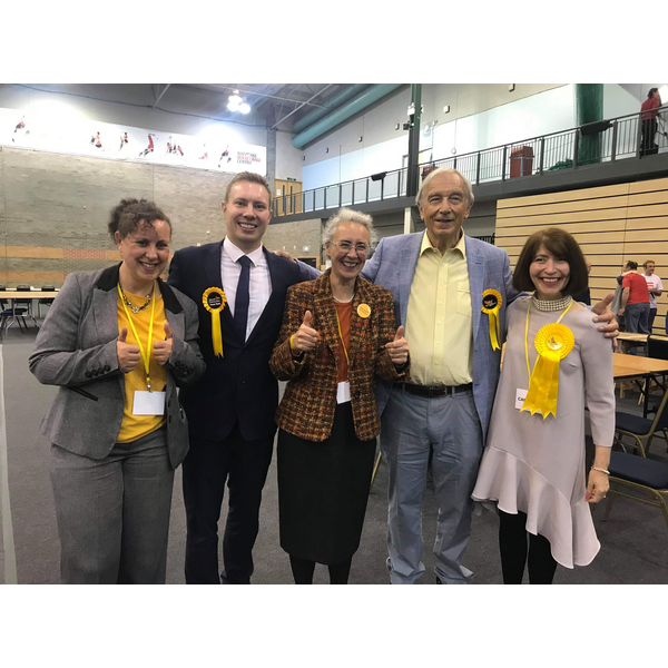 Lib Dems storm to success locally in the European Elections ()