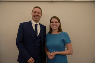 Michael Mullaney met with party leader Jo Swinson to discuss need for more support for local services in hinckley and Bosworth