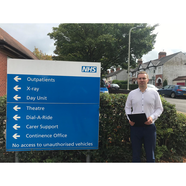 Michael Mullaney and the local Lib Dems are campaigning for the return of X-ray services to Hinckley