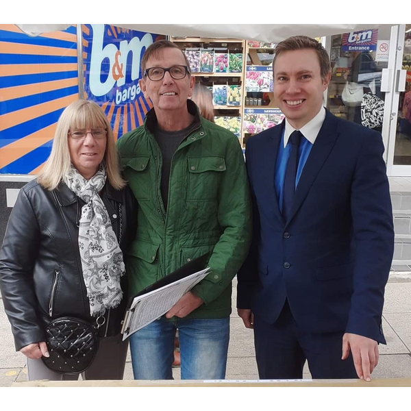 There was a massive response to Michael Mullaney and campaigners petition to get X-ray services back in Hinckley