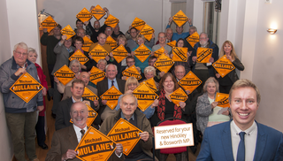 There was a huge turnout at Michael Mullaney's campaign laiunch